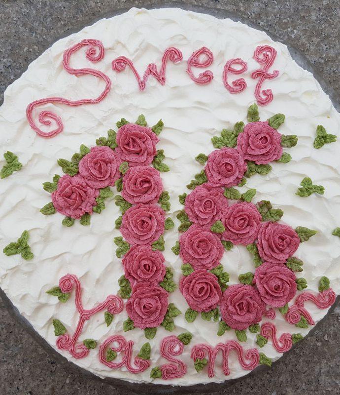 Sweet Sixteen rosa