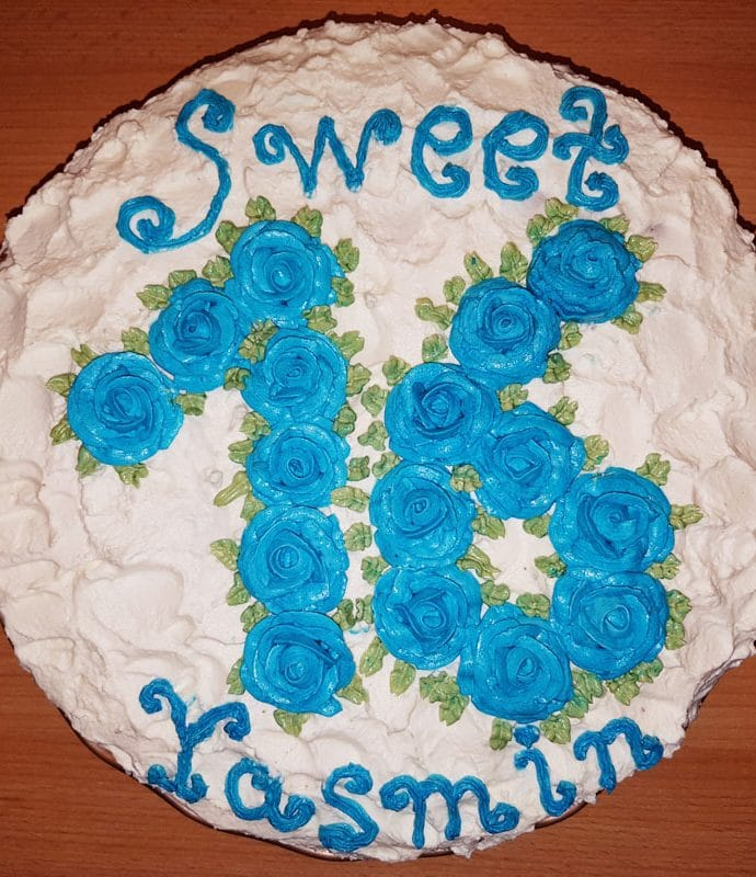 Sweet Sixteen blau